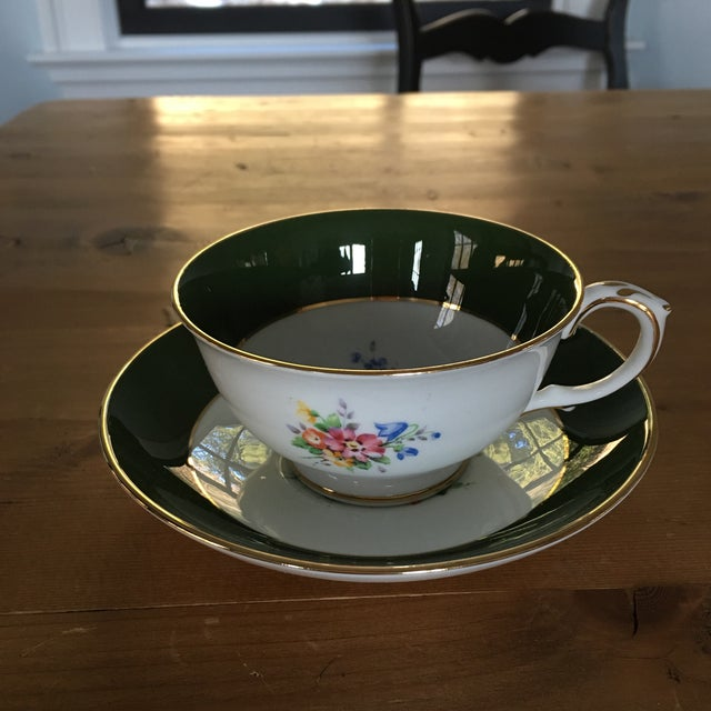 Crown Staffordshire Tea Cup For Sale - Image 9 of 9
