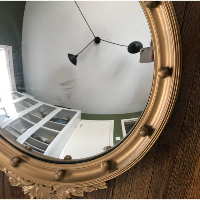 Vintage Convex Federal Mirror For Sale In Minneapolis - Image 6 of 8