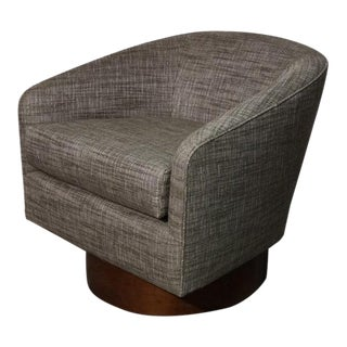 Milo Baughman Swivel Chair For Sale