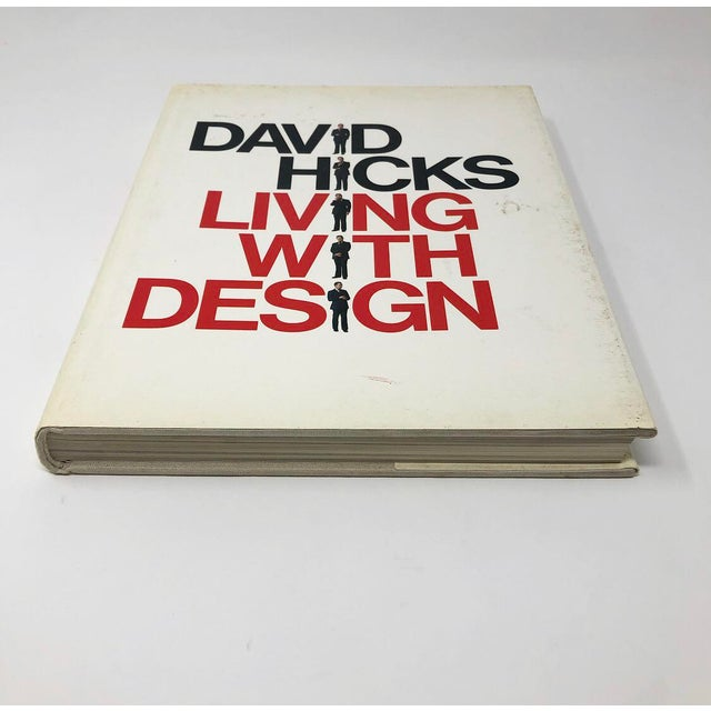 David Hicks David Hicks Living With Design Hardback Design Book For Sale - Image 4 of 12