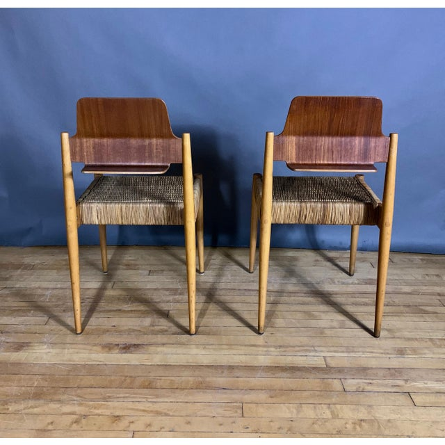 1950s Egon Eiermann Church Chairs- Set of 4 For Sale In New York - Image 6 of 13