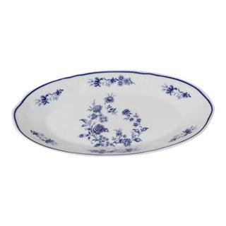 Blue/White De Limoges Philippe Deshoulières Serving Dish For Sale