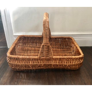 Vintage Wicker Garden Basket Preview