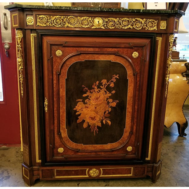 Late 19th Century 19th Century Louis XVI Style Cabinet - High Quality For Sale - Image 5 of 13