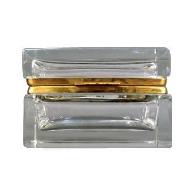Traditional Cut Crystal Box For Sale - Image 3 of 3