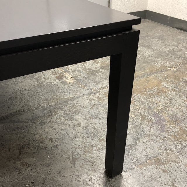 Contemporary Custom Square Oak Dining Table For Sale In San Francisco - Image 6 of 8