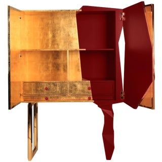 Honeycomb Ruby Cabinet, Royal Stranger For Sale