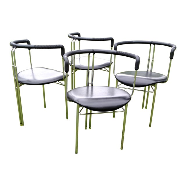CiDue Italian Chairs - Set of 4 For Sale