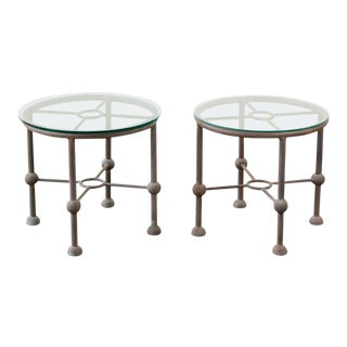 Papperzini Style Patio Garden Drink Table For Sale