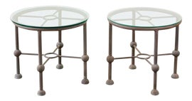 Image of Aluminum Outdoor Accent Tables