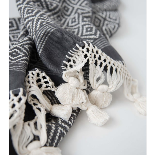 Mexican Grey Blanket - Image 3 of 3