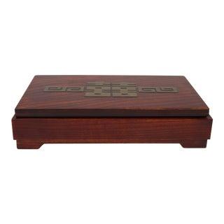 Art Deco Wooden Box