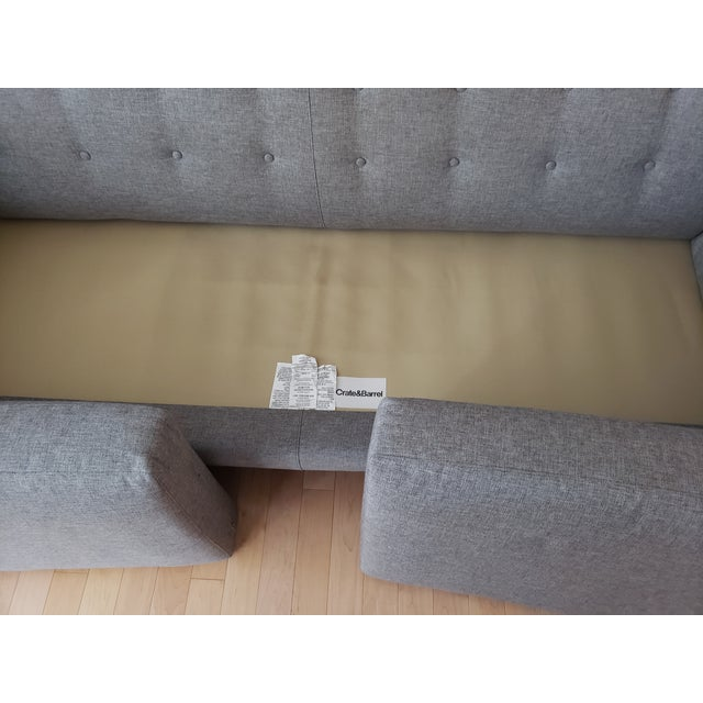 2010s Crate & Barrel Aidan Sofa For Sale - Image 5 of 7