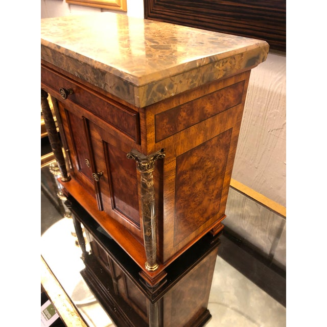 Maitland - Smith Vintage Neoclassical Credenza Tabletop Treasure Box For Sale - Image 4 of 12