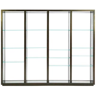 "Edward Wormley ""Superstructure"" Room Divider Display Case For Sale"