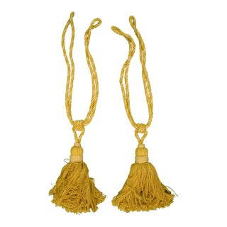 Rope Twist Curtain Tassels - a Pair