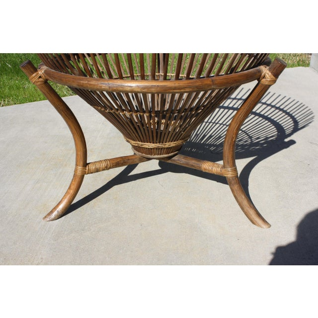Vintage Franco Albini Style Fish Trap Side Table For Sale - Image 9 of 13