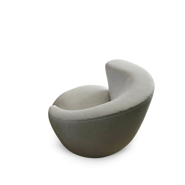 Mid-Century Modern Vladimir Kagan 'Nautilus' Lounge Chair For Sale - Image 3 of 11