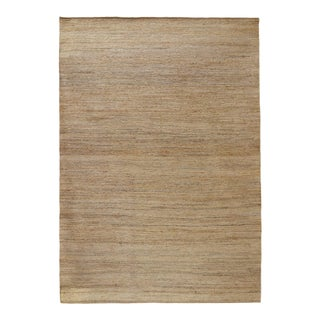Soumak Jute Natural Rug - 5 X 8 For Sale