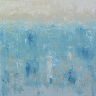 Original Abstract Modern Impressionist Canvas Painting For Sale