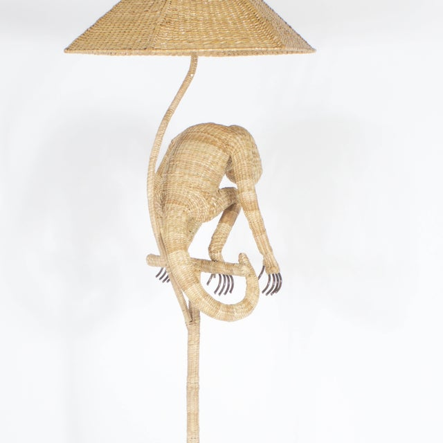 Early 21st Century Mario Torres Monkey Floor Lamp For Sale - Image 5 of 8
