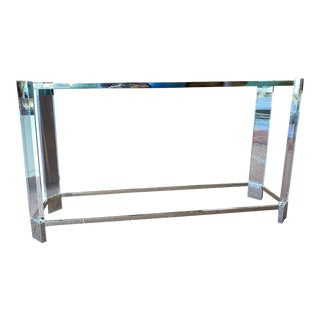 Contemporary Melrose Console Table For Sale
