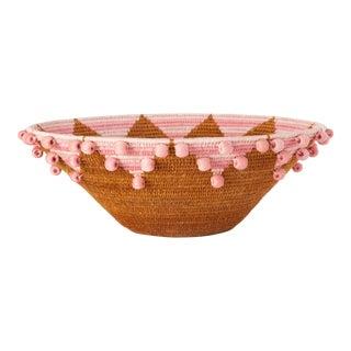 Festival Large Sisal Basket Caramel For Sale