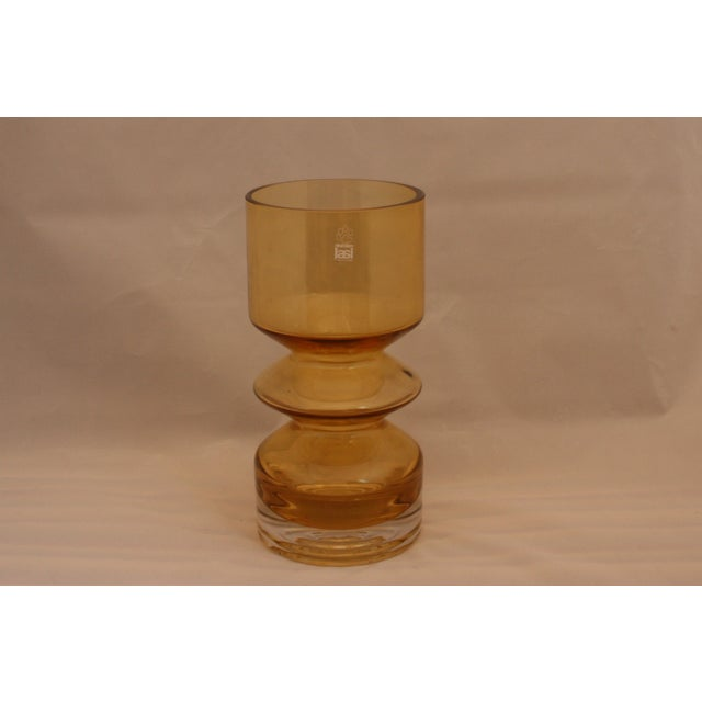 MCM Riihimaen Lasi Finland Art Glass Vase For Sale In West Palm - Image 6 of 6
