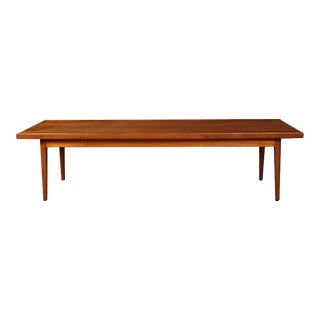 Mid Century Kipp Stewart Drexel Coffee Table Bench For Sale