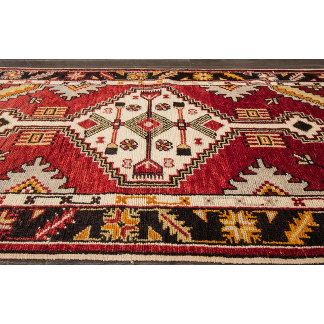 "Early 20th Century Vintage Anatolian Rug, 2'9"" X 5'4"" For Sale - Image 4 of 10"