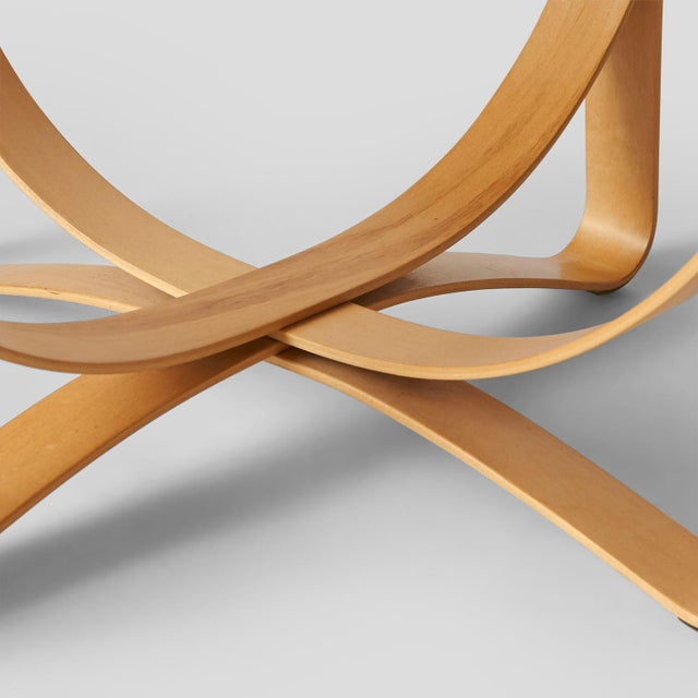 Maple Hat Trick Armchair by Frank Gehry for Knoll For Sale - Image 7 of 9