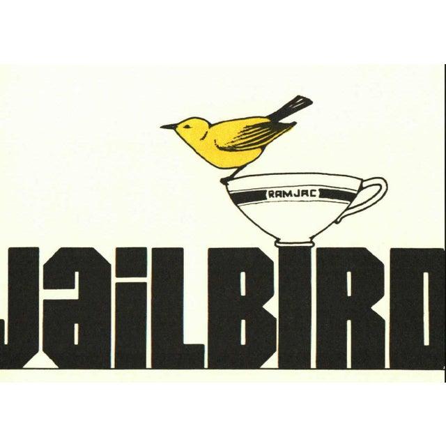 Jailbird by Kurt Vonnegut. New York: Delacorte Press, 1979. 3rd Printing. 246 pages. Cloth with dust jacket.