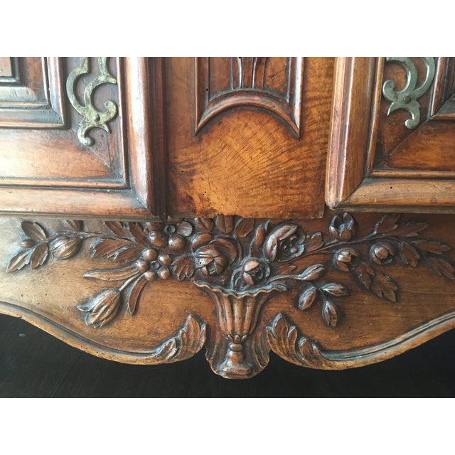 18th Century Louis XV French Armoire For Sale - Image 5 of 10