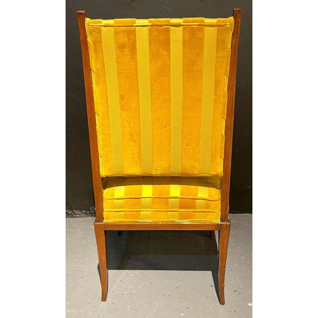 Mid-Century Modern Six Tommi Parzinger Dining Chairs, Originals For Sale - Image 10 of 13