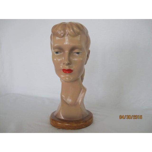 Vintage Female Mannequin Head - Image 2 of 7