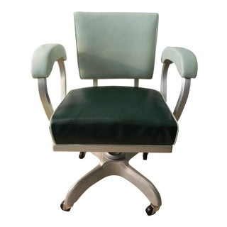 Industrial Tanker Office Chair by Globe-Wernicke Company For Sale