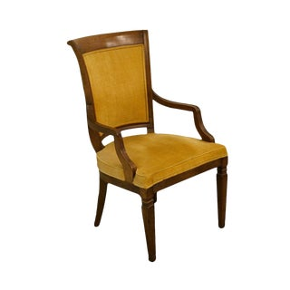 John Widdicomb Co. Grand Rapids Jacobean Style Dining Arm Chair For Sale