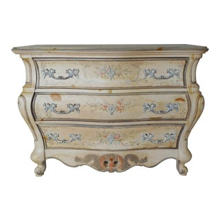 "Pulaski French Louis XV Bombe Style Chest 44""w For Sale"