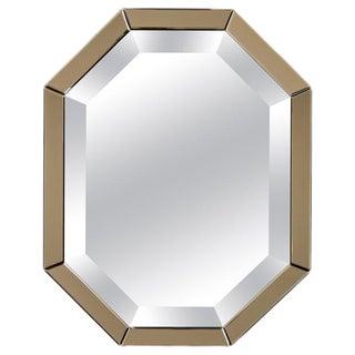 Italian Octagonal Mirror For Sale