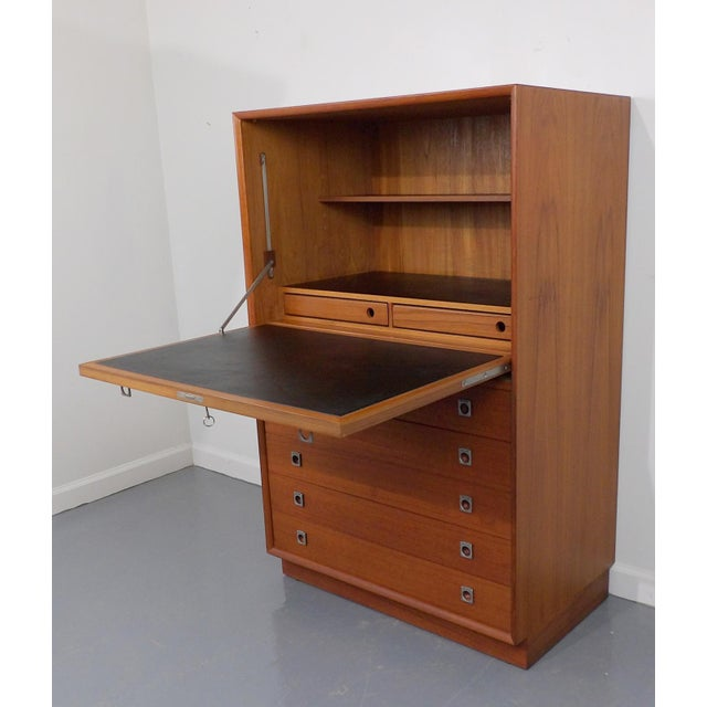 Arne Vodder for Sibast Teak Secretary Desk - Image 11 of 11