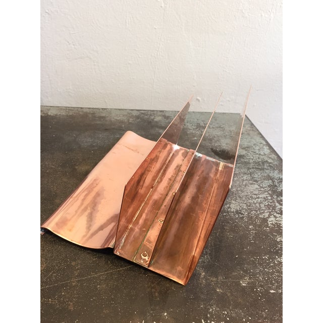 Copper File Sorter With Pen Rest - Image 4 of 6