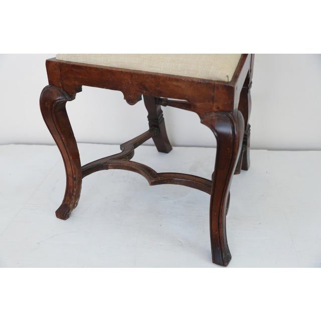 Anglo Dutch Walnut Chairs - A Pair For Sale In Houston - Image 6 of 9