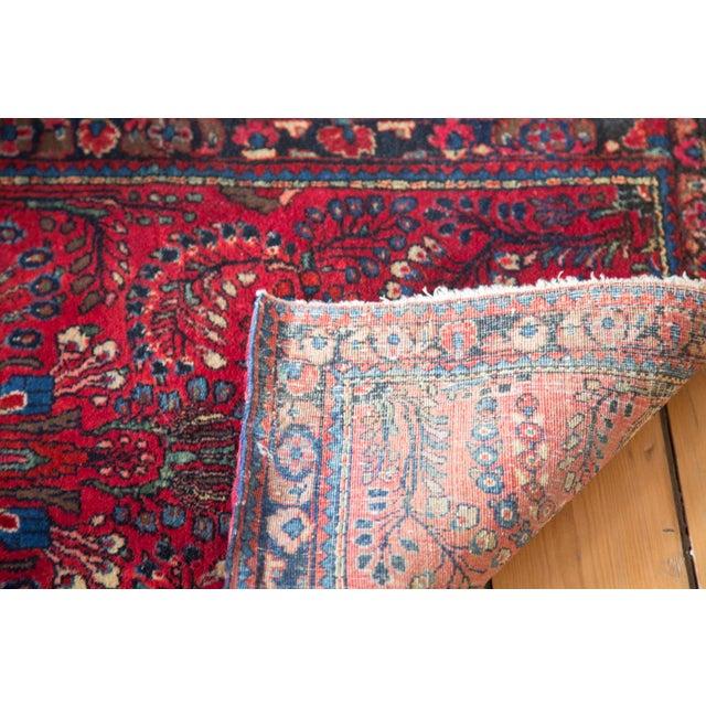 """Vintage Sarouk Rug Mat - 2'1"""" x 4' - Image 10 of 10"""