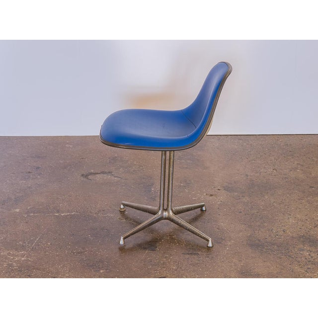 Mid-Century Modern Blue La Fonda Eames Chair for Herman Miller For Sale - Image 3 of 10