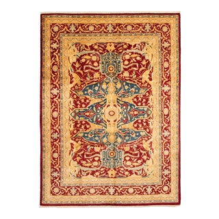 """Bohemian Hand-Knotted Rug, 8'10"""" X 12'0"""" For Sale"""
