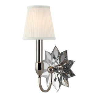 Barton 1 Light Wall Sconce - Polished Nickel Preview