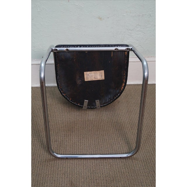 Chromecraft Vintage Mid Century Modern Arm Chair For Sale - Image 9 of 10