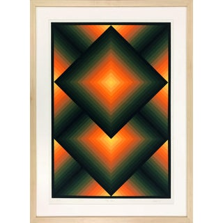 """1960s Contemporary Print, """"Top Square"""" by Jurgen Peters For Sale"""