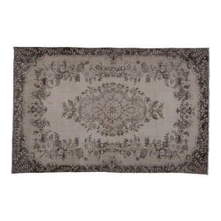 Hand Knotted Wool Turkish Sparta Rug 6'4'' X 9'11'' For Sale