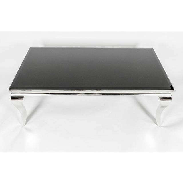 Art Deco Mid-Century Modern Art Deco Style Coffee Table For Sale - Image 3 of 7